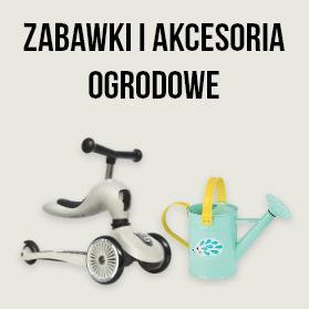 zabawki i akcesoria ogrodowe