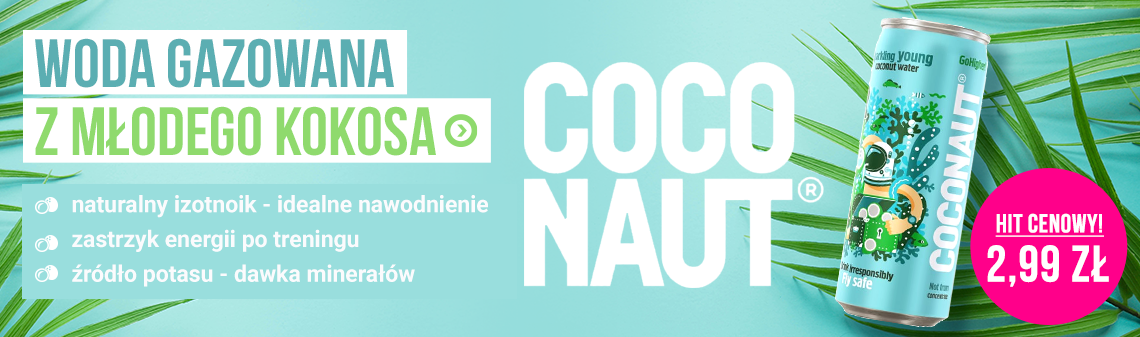 Gazowana woda kokosowa