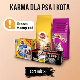 Karma dla psa i kota